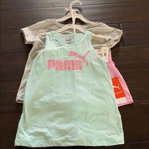 Girls 3 piece Puma set